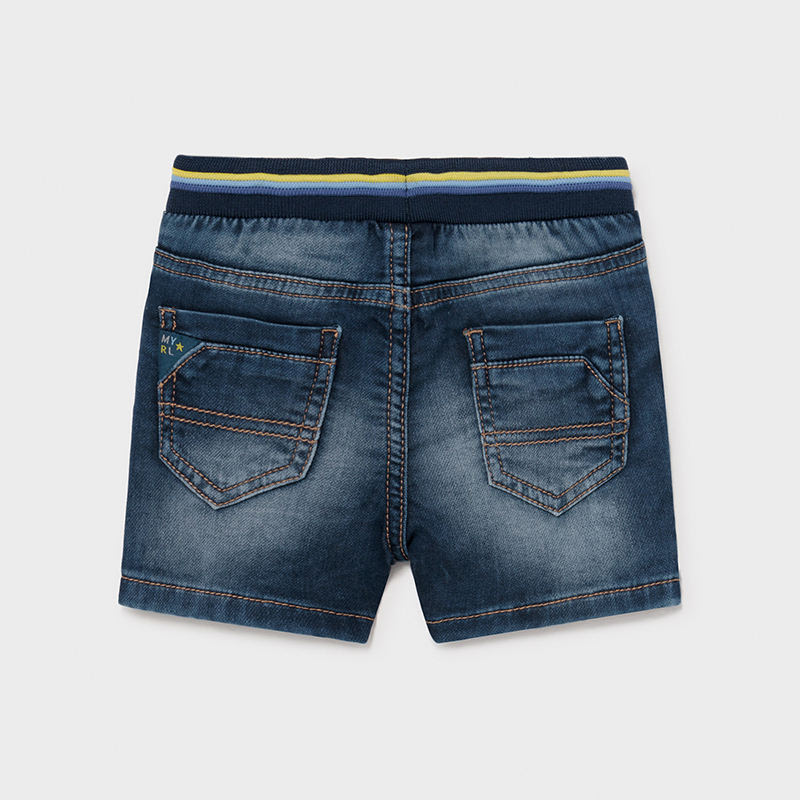 Soft Denim Shorts for Baby Boy Medium