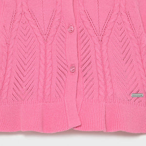 Knitting Cardigan for Baby Girl Camellia