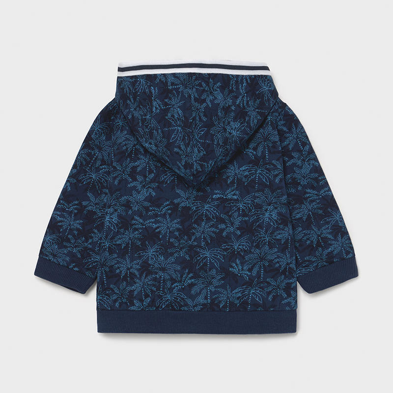 Printed Pullover for Baby Boy Blue