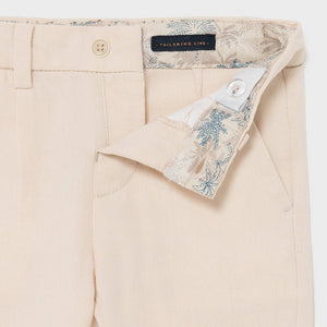 Dressy Linen Pants for Baby Boy Canvas