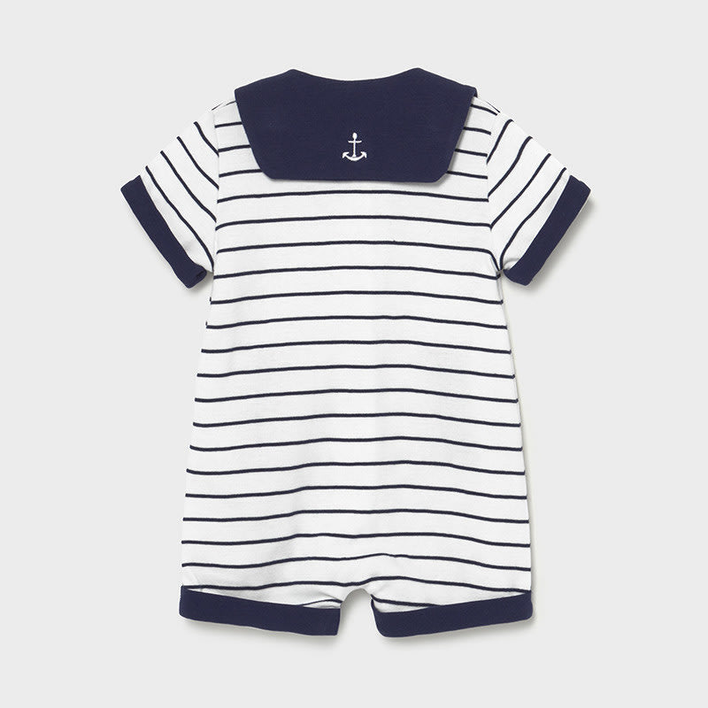 Nany Knit Dungaree for Newborn Boy Navy