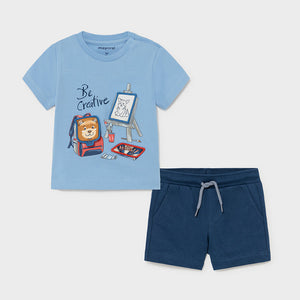 Play Set for Baby Boy Lavender