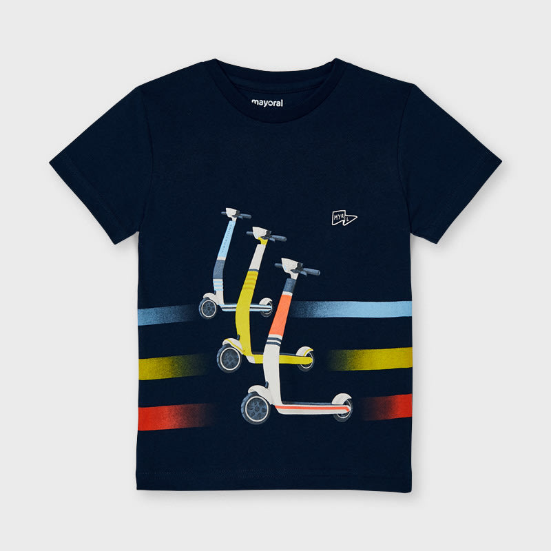 S/s Skater T-shirt for Boy Navy