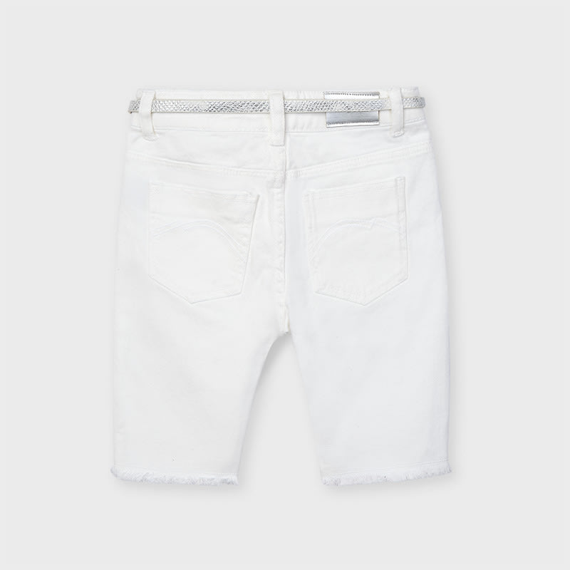 Cyclist Pant for Girl White