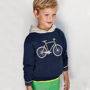 Bicycle Pullover for Boy Navy