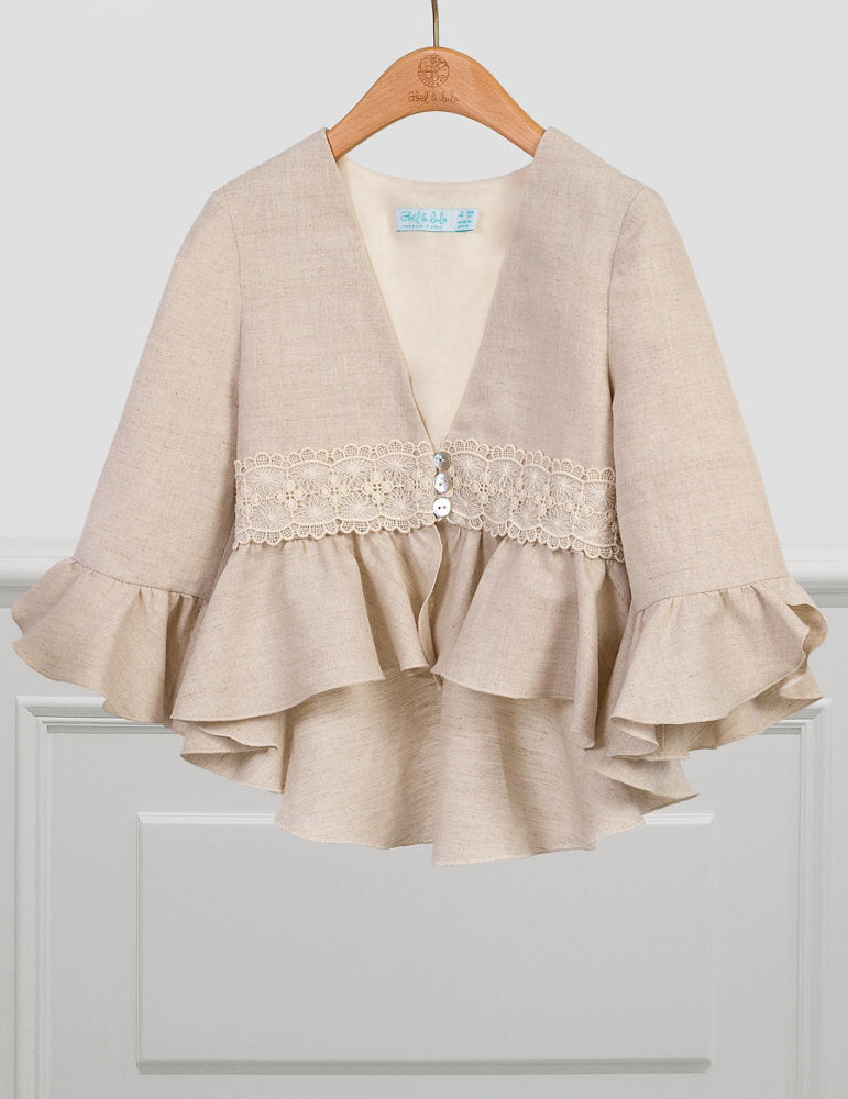 Linen Jacket for Girl Linen