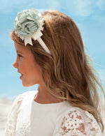 Load image into Gallery viewer, Floral Headband for Girl Anise