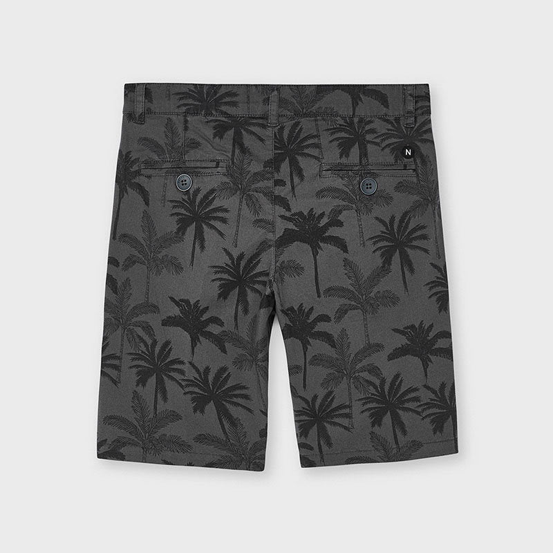Printed Shorts for Teen Boy Caviar