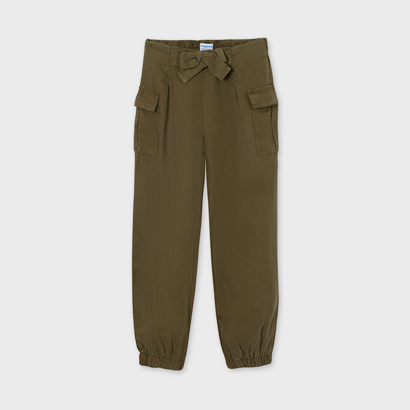 Pant With Pockets for Teen Girl Hunt Green