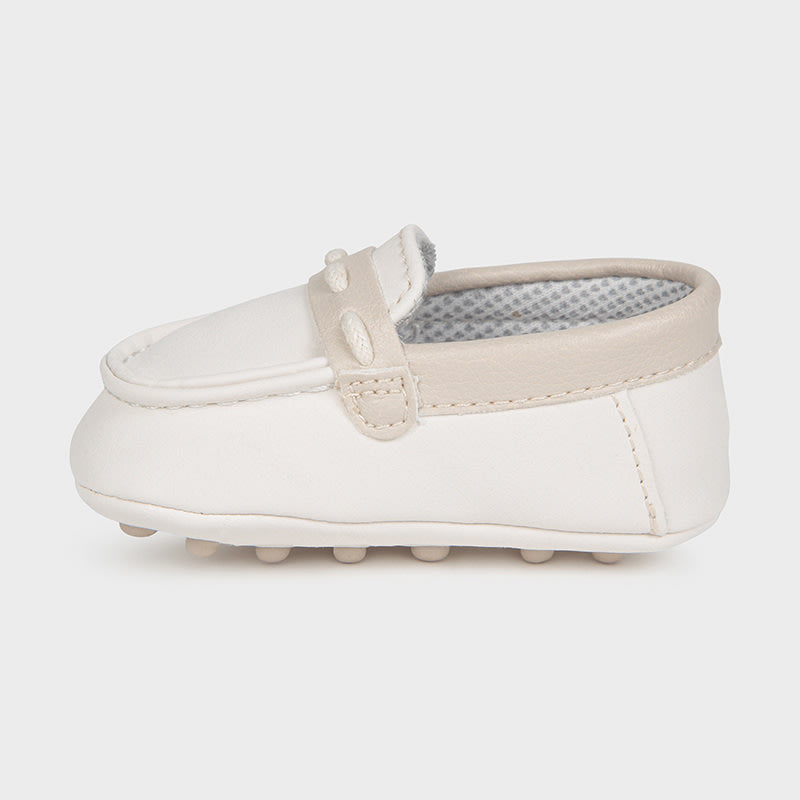 Moccasins for Newborn Boy Natural