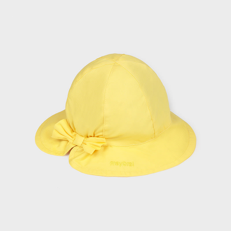 Hat for Baby Girl Yellow