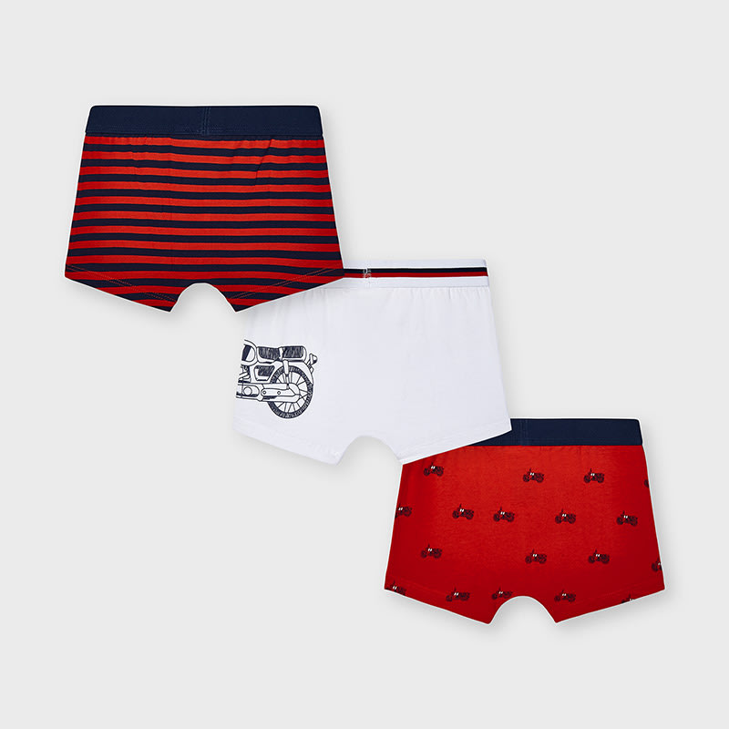 Boxer Set Of 3 Bicycle for Boy Cyber Red