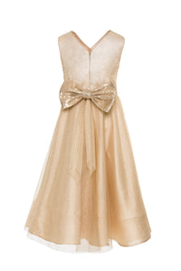 Beige Sparkly Dress