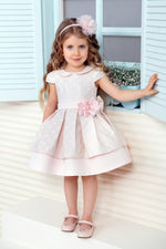 Load image into Gallery viewer, Light Pink Aurora Dress with a Headband