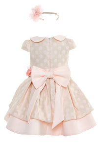 Light Pink Aurora Dress with a Headband