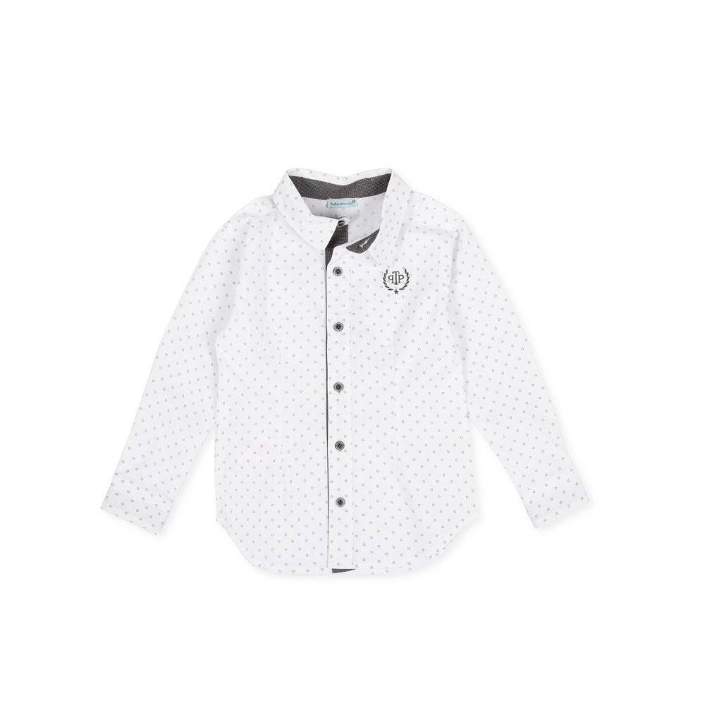 Mousse Shirt White-grey