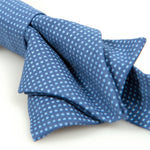 Load image into Gallery viewer, Créme Brûlée Bow Tie Atlantic Blue