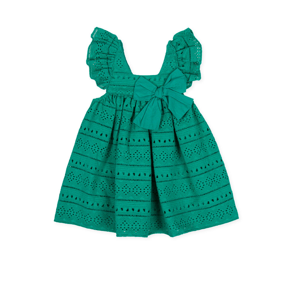 Vichyssoise Dress Green