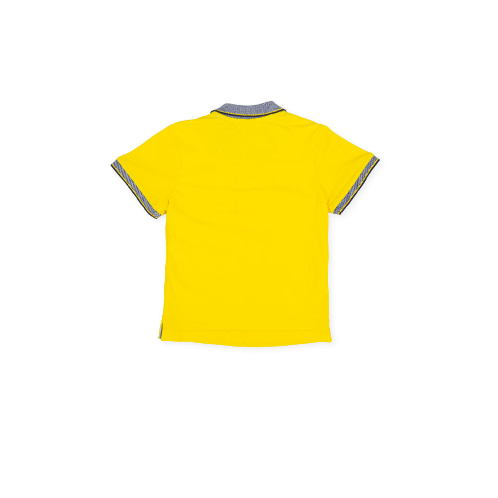 Margherita Polo Neck Yellow