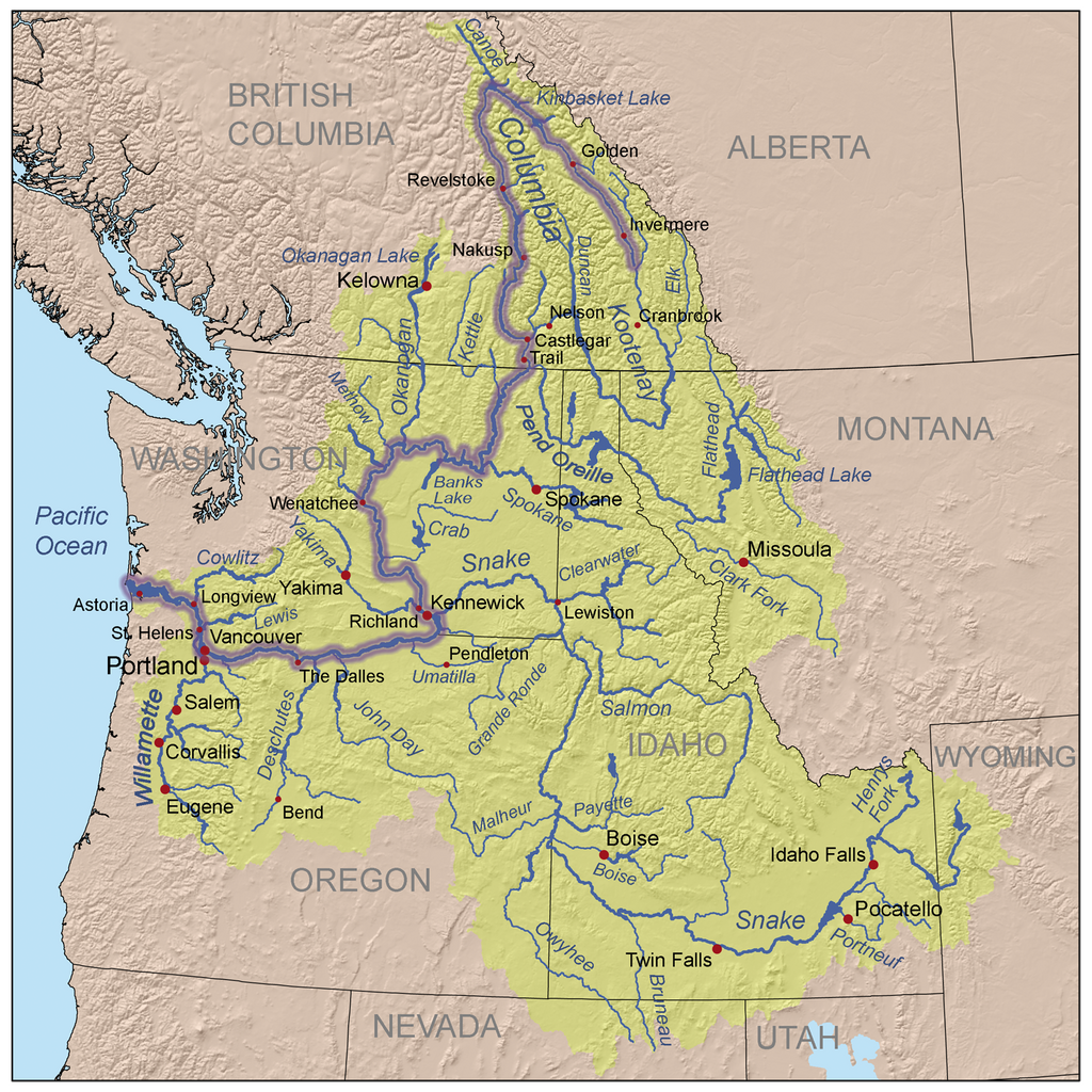 The Columbia River Watershed