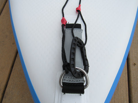 Dock Line Attached to SUP