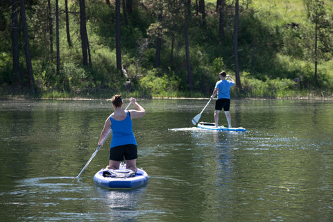 Clear Lake, Stand-up Paddleboard, SUP
