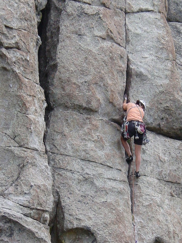 Climbing Bread Loaves in City of Rocks, ID