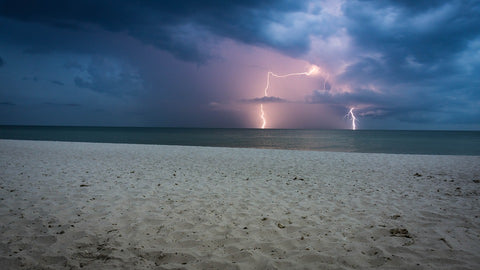 Lightning Strike on Open Water