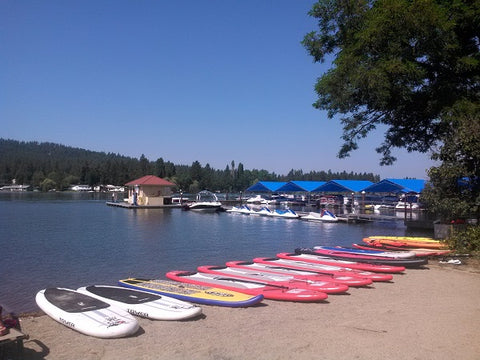 Fun Unlimited on the Spokane River just outside of Coeur d'Alene