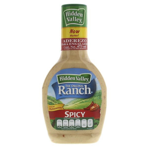 Aderezo hidden valley spicy ranch 473 ml. pza