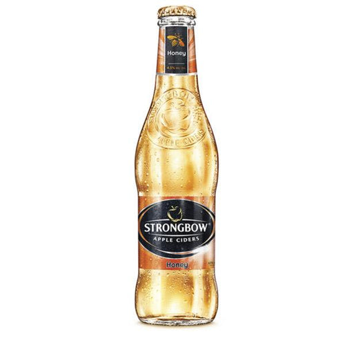 Bebida strongbow honey 330ml pza