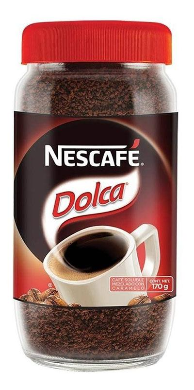 Cafe inst nescafe dolca 170 gr pza