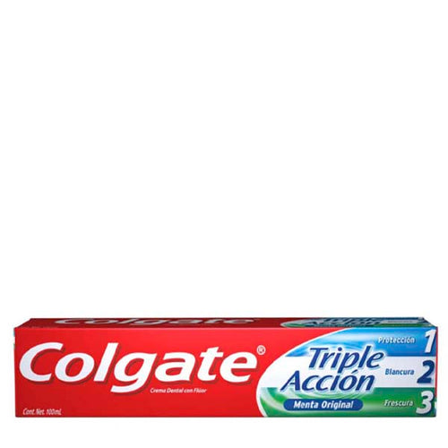 C.d. colgate triple accion 100 ml pza