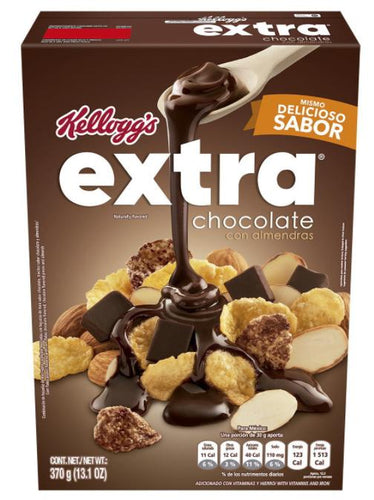 Cereal extra chocolate kelloggs 370gr pza