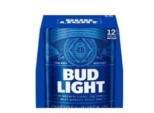 Cerveza budlight 12 pack botella 355 ml pza