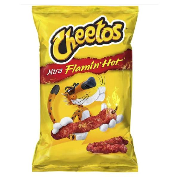 Cheetos flamin hot sabritas 150 gr pza