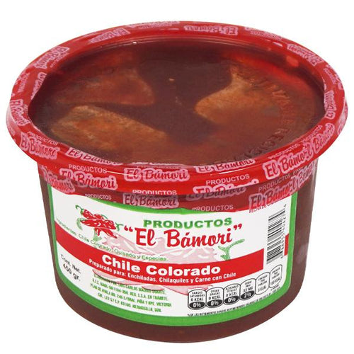 Chile colorado el bamori 450 gr pza
