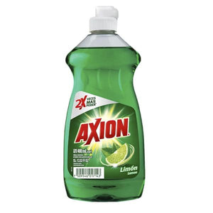 Detergente liquido axion limon 400 ml pza
