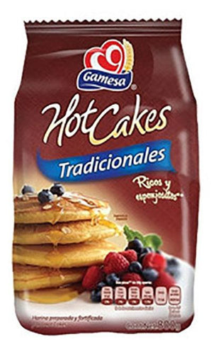 Hot cakes normal gamesa 850gr pza