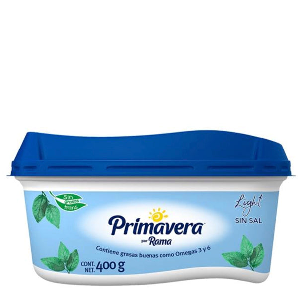 Margarina primavera light 400 gr pza