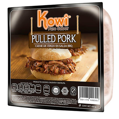 Pulled pork kowi 400 gr pza
