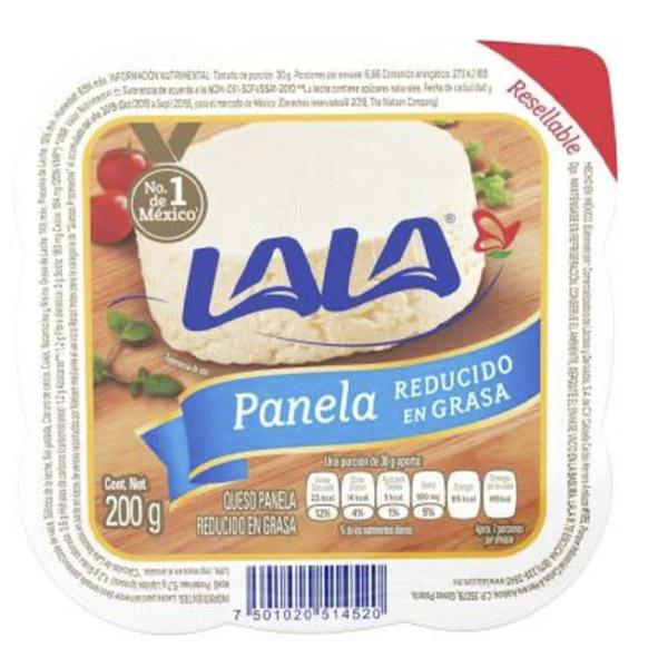 Queso panela light lala 200grs pza