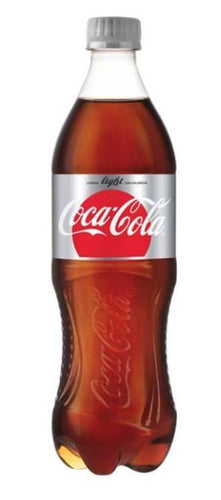 Refresco coca cola light 600 ml pza