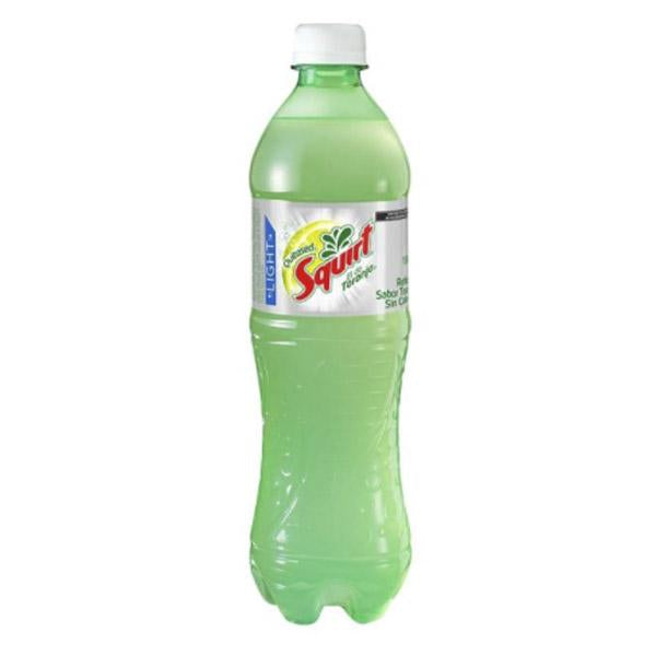 Refresco squirt light 600ml pza