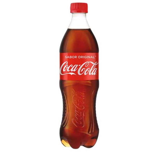 Refresco coca cola original 600 ml pza