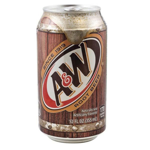 Root beer a&w 355ml pza