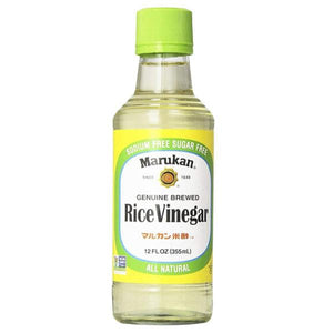 Vinagre de arroz marukan 12oz,355ml pza