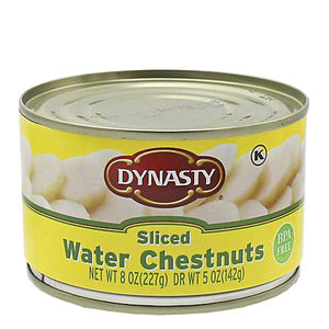 Water chestnuts dynasty 8oz,227gr pza