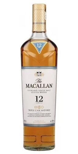 Whisky the macallan 12 años 750 ml pza