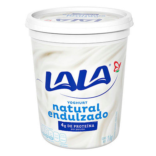 Yogurt batido natural lala 1 kg pza